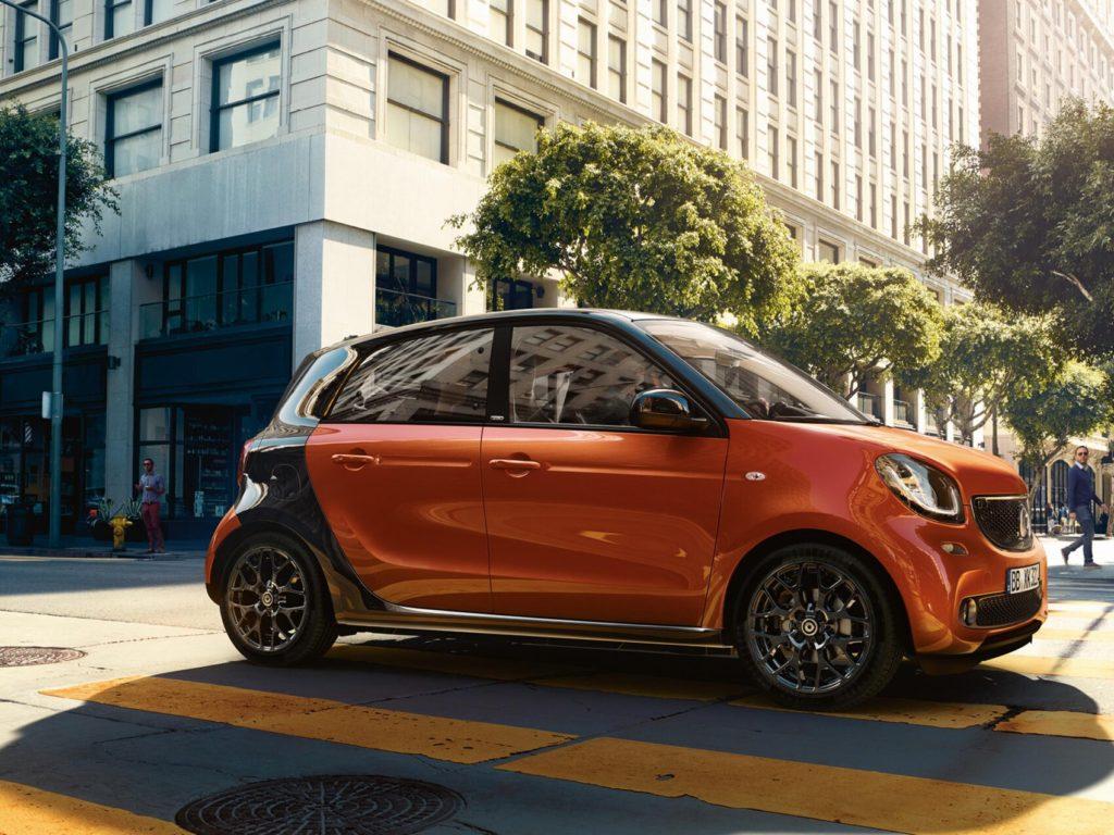 smart marchio auto